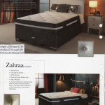 THE ZEAL AND THE ZAHRAA HEALTH POSTURE BED